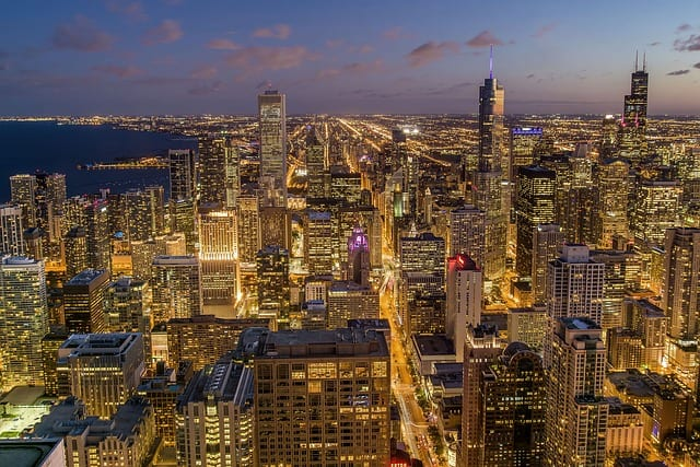 chicago-view from willis tower