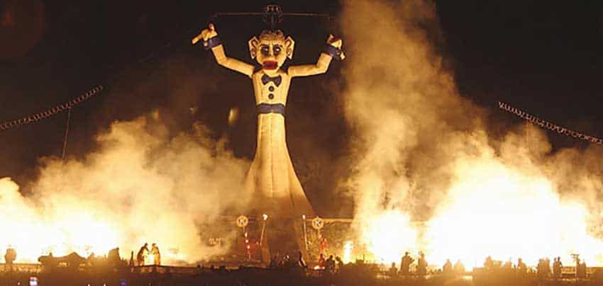Burning of the Zozobra