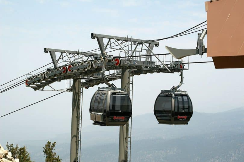Heavenly Mountain Gondola, Lake Tahoe
