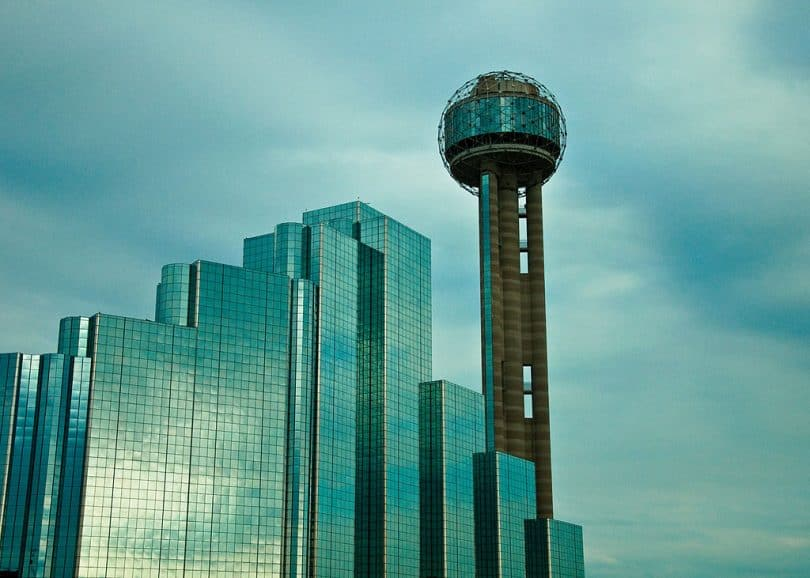Reunion Tower in Dallas TX