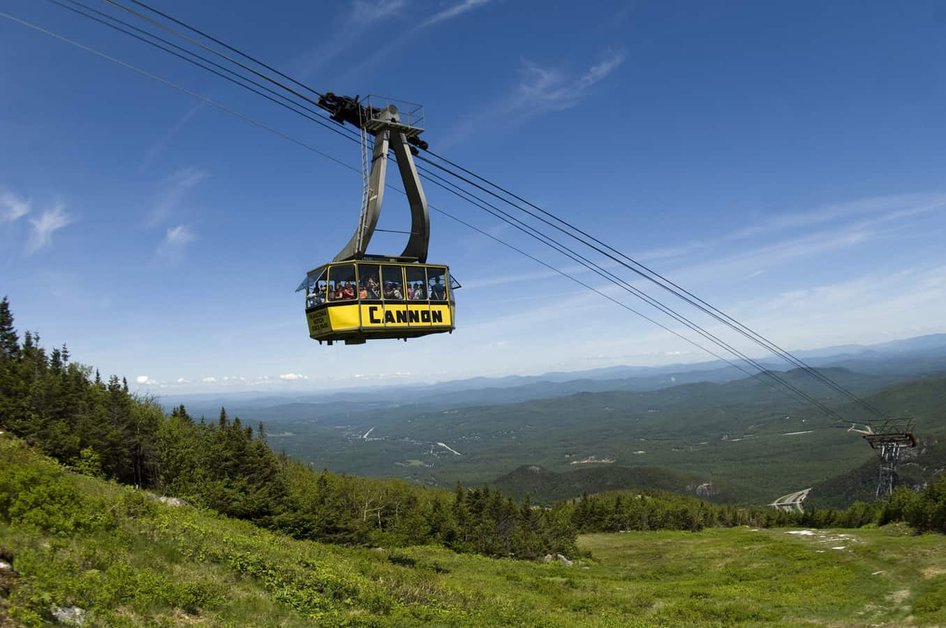 Cannon Mountain Ski Area Aerial Tramways