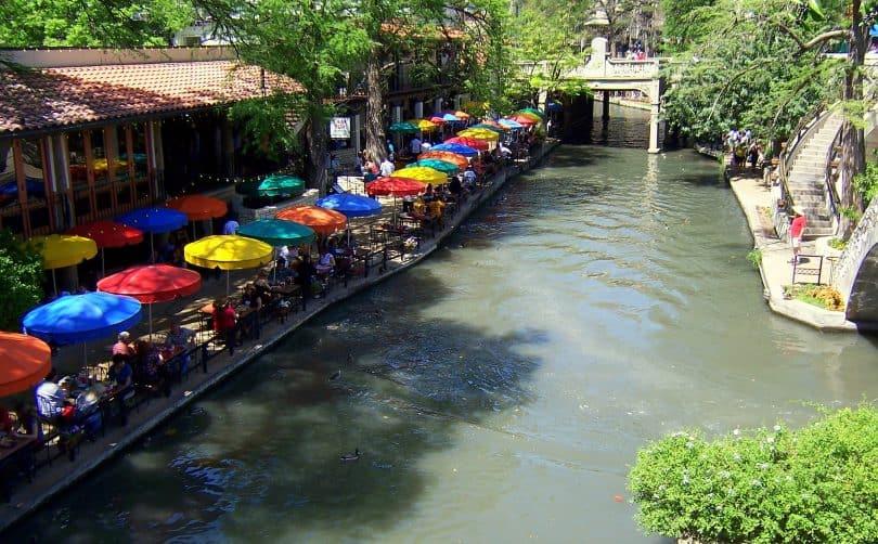 Casa Rio Restaurant, along the San Antonio River Walk
