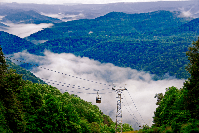 Pipe Stem Resort Aerial Tram, WV