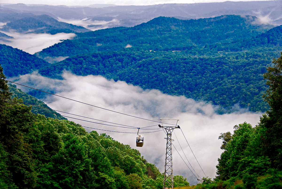 Pipestem Resort Aerial Tram, WV