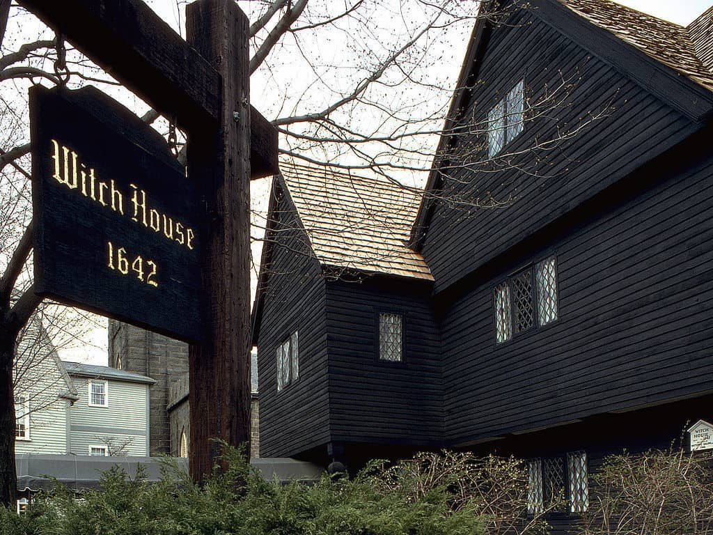 The Salem Witch house of Salem Massachusetts