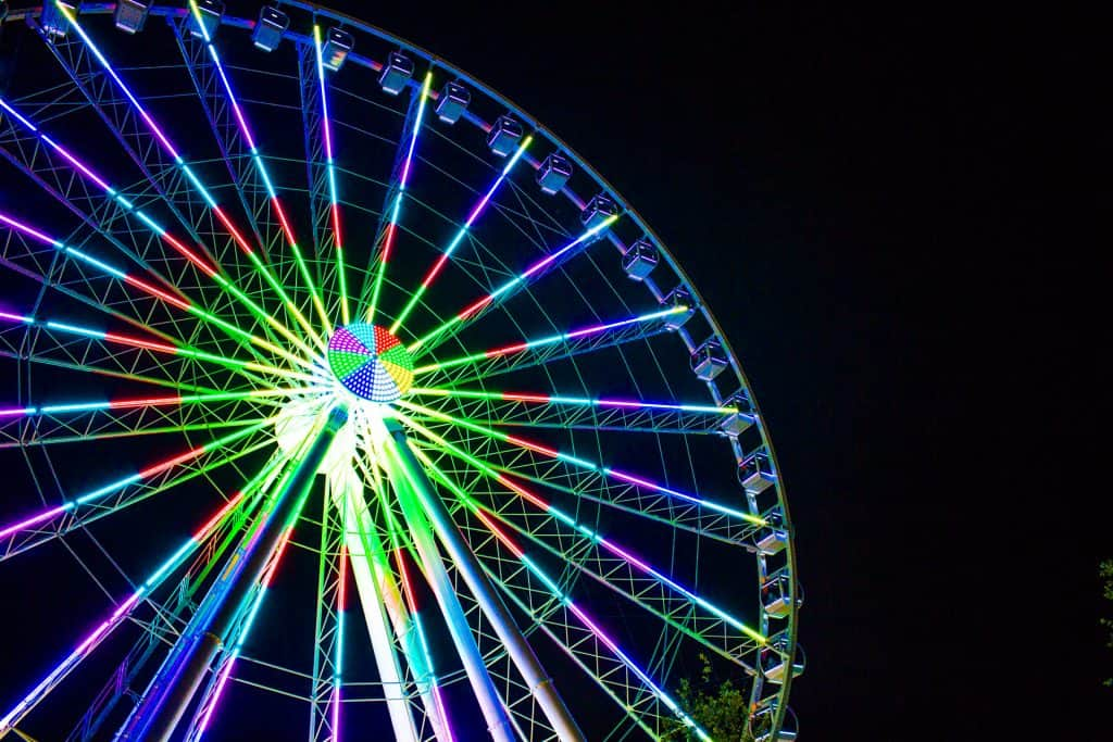 Great Smoky Mountain Ferris Wheel