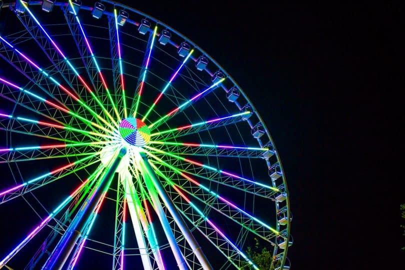 Great Smoky Mountain Ferris Wheel