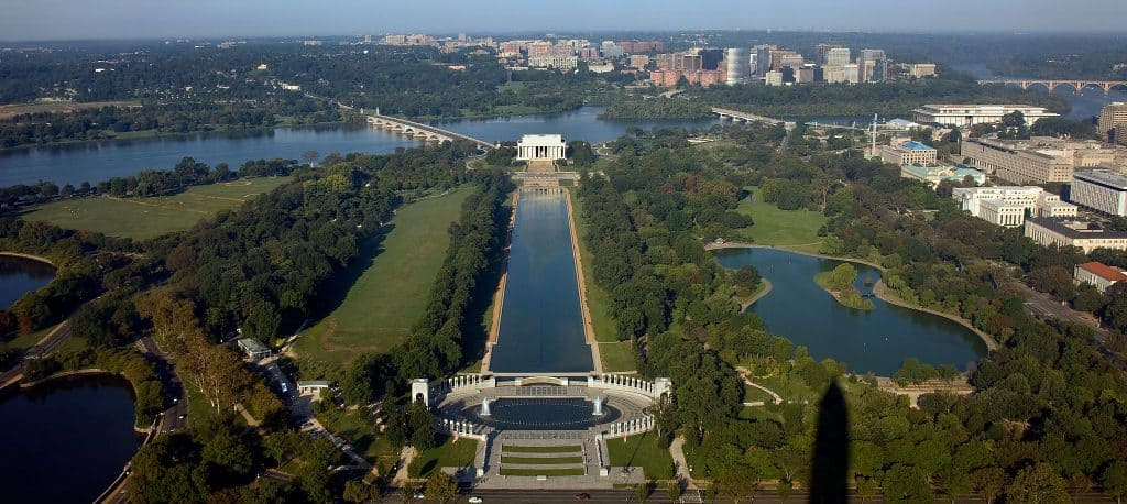 View from the Washington Monument