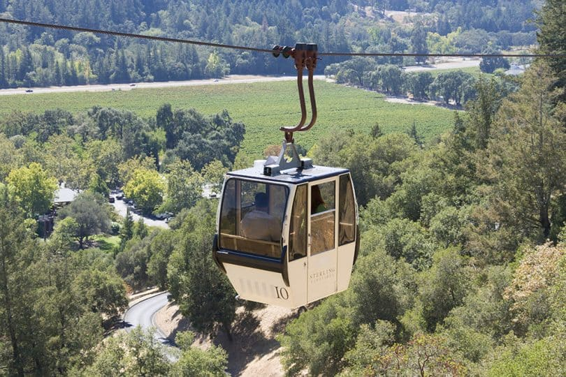 Sterling Winery Aerial Tram