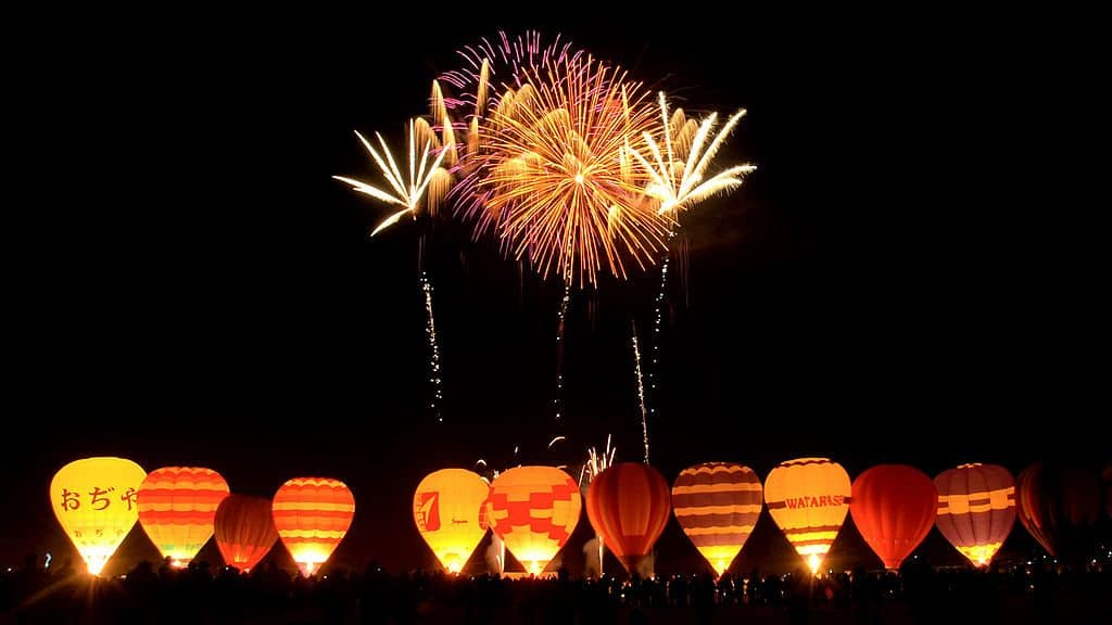 Balloon Festival Night Glow