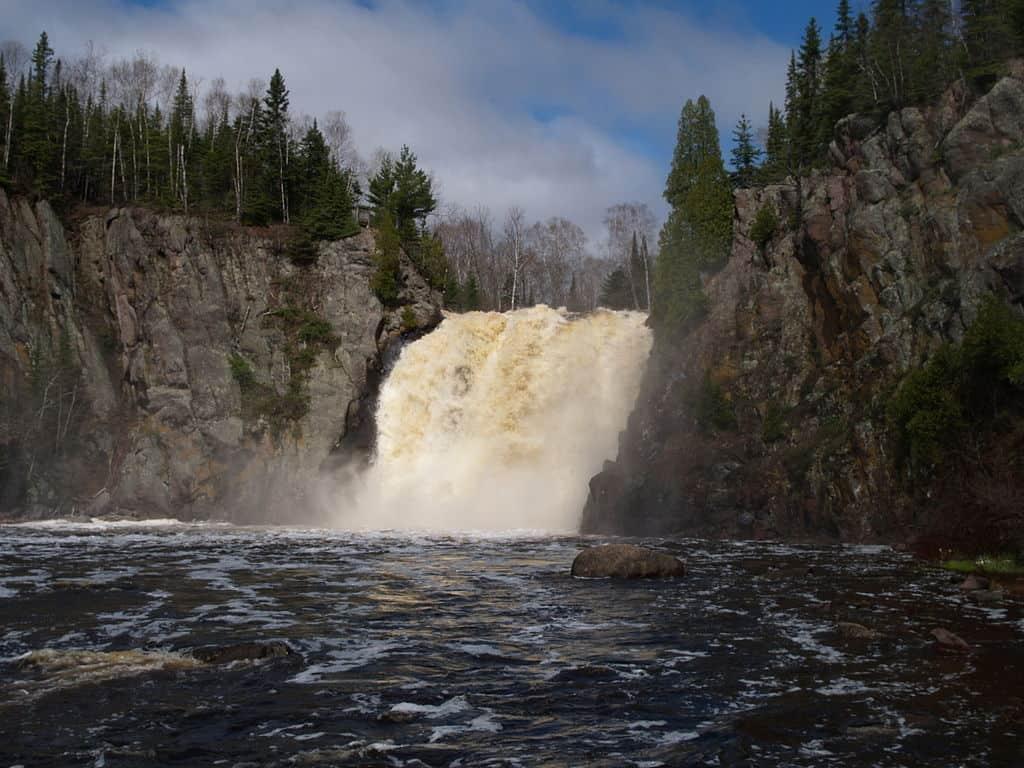 Baptism River Falls, Tettegouche State Park, MN