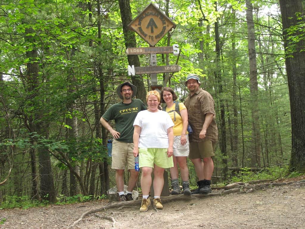 Appalachian Trail Midpoint in Pennsylvania