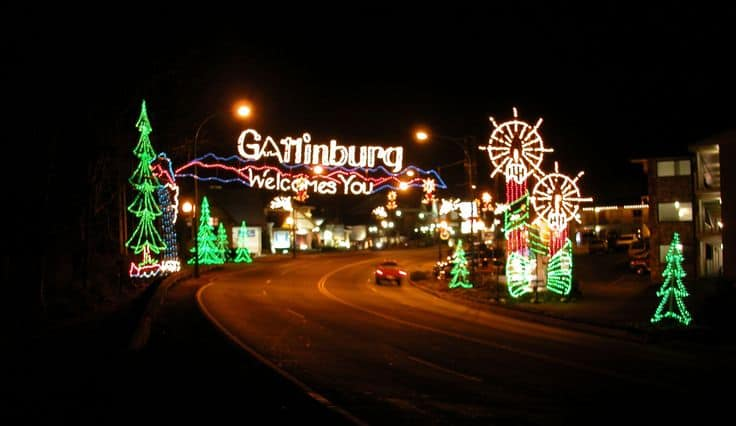 Gatlinburg's Winter Magic