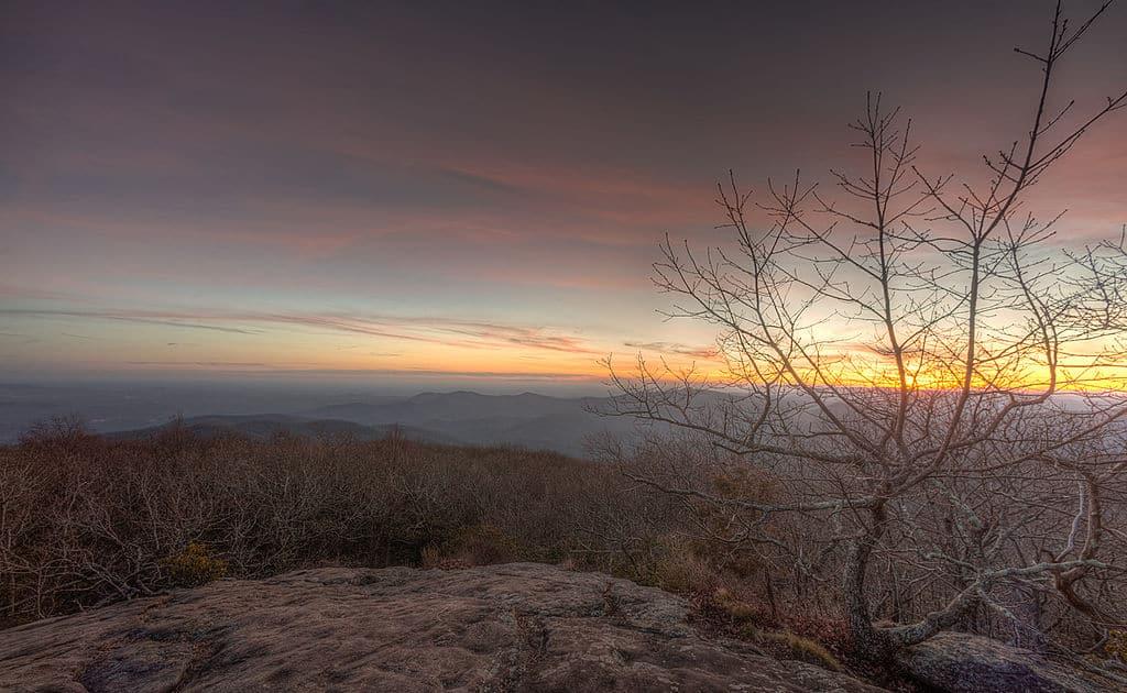 Blood Mountain, Georgia   Img Src: By Anish Patel, via Wikimedia Commons