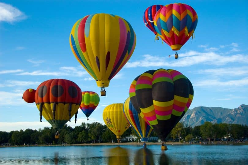 Colorado Springs Hot Air Balloon Competition