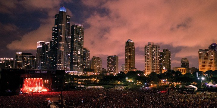 August Event: Lollapalooza in Chicago