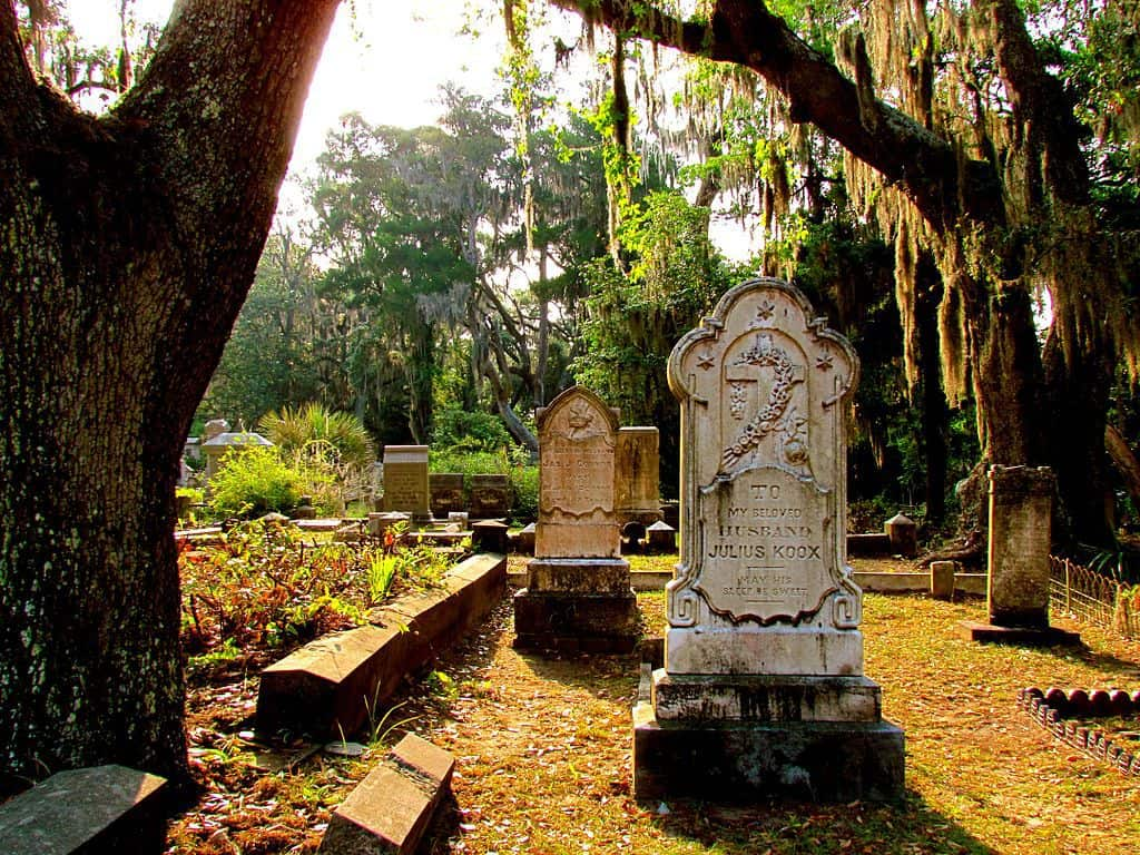 Graveyard in Savannah, GA