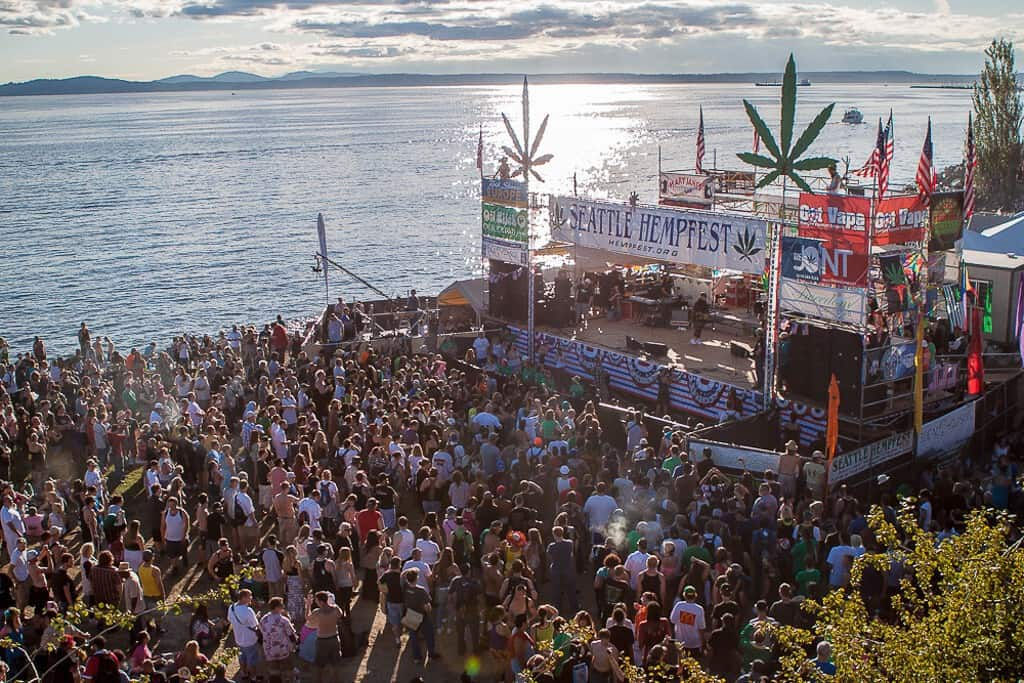 Seattle Hempfest Festival Main Stage