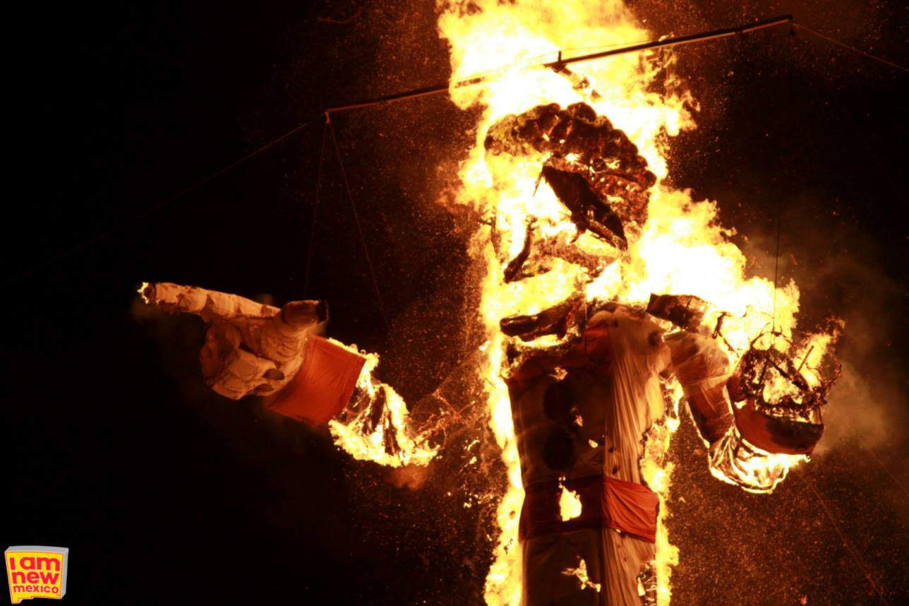 The Official Burning of Zozobra, Sante Fe, NM