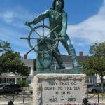 Man at the Wheel, Fisherman's Memorial Cenotaph
