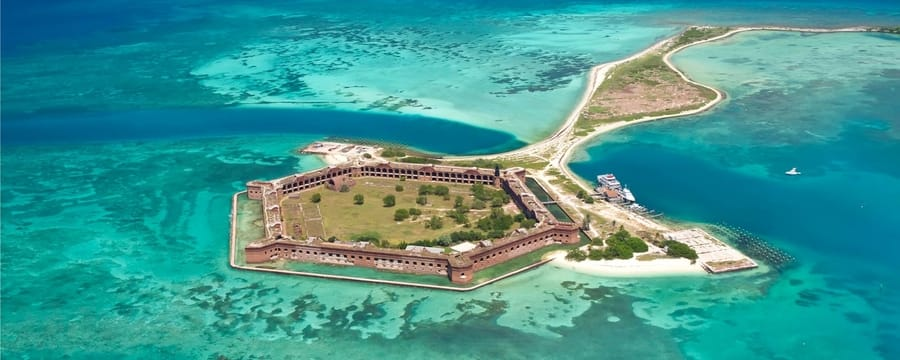 Dry Tortugas National Park, Florida-Winter-camping