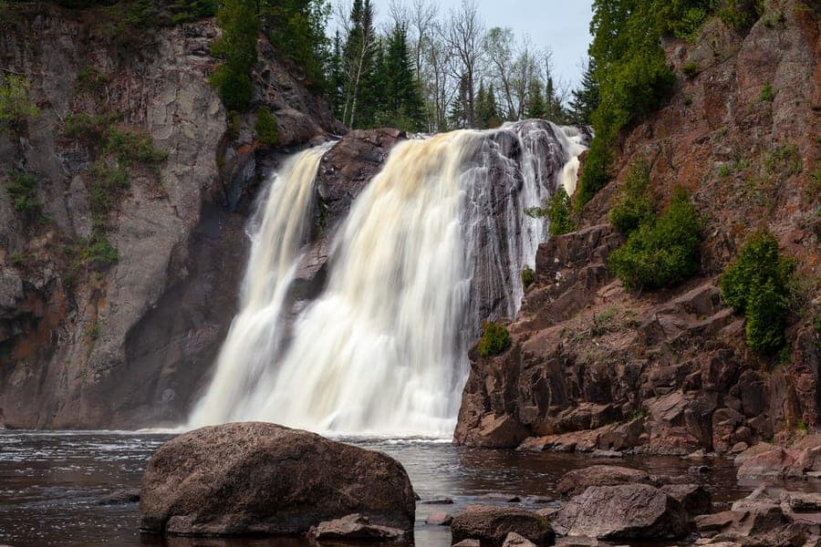 Tettegouche State Park-waterfall