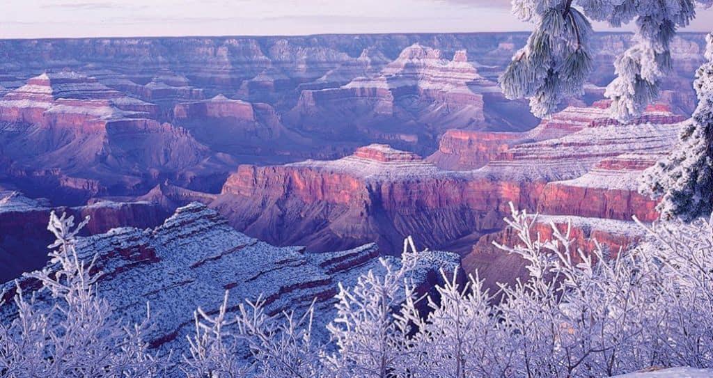 Winter-Camping-Grand-Canyon-National-Park-camping
