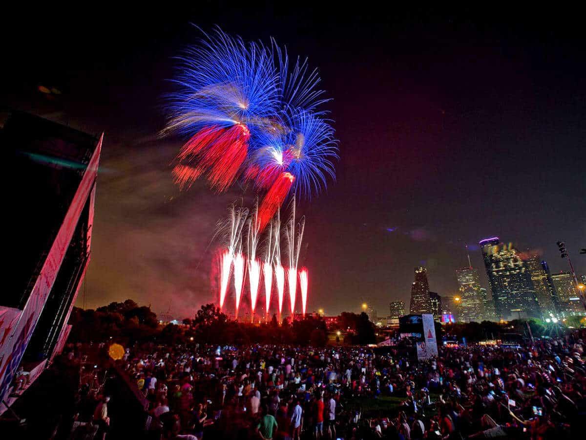 Houston's Freedom Over Texas Fireworks