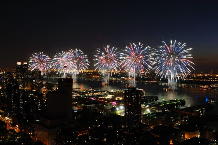 The Biggest and Best Fireworks Display is in NYC! A great way to kick off July festivals in the USA!