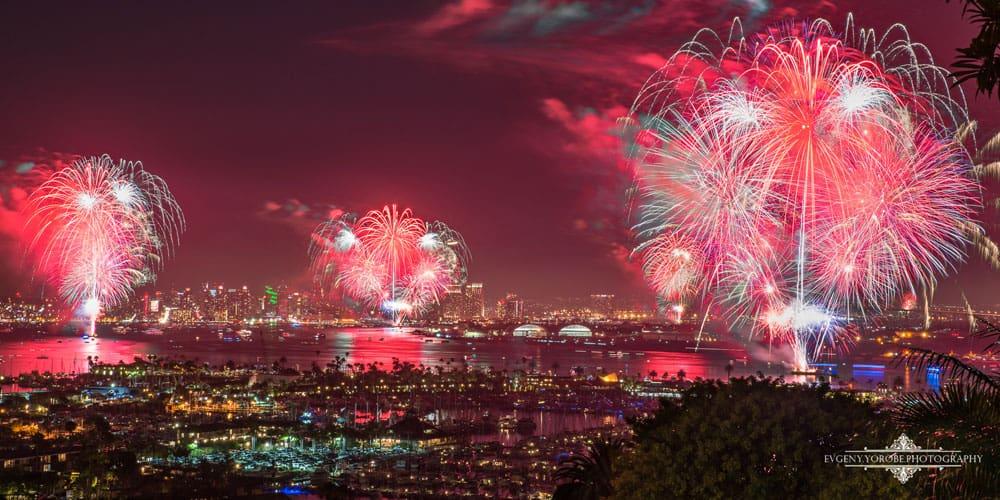 Best Fireworks in San Diego