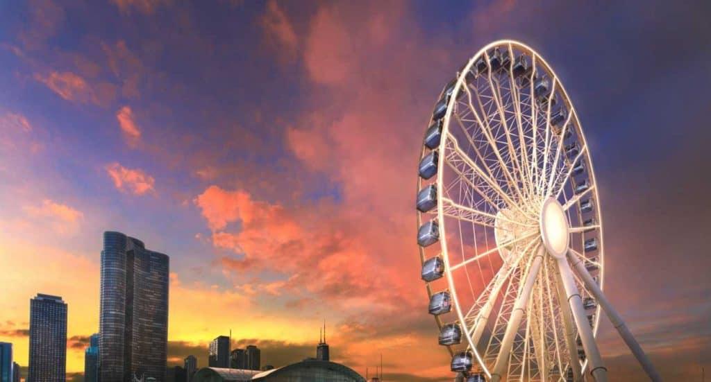 Centennial Wheel navy pier