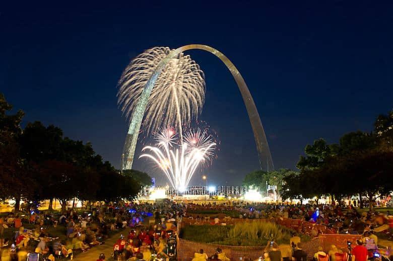 Best Fireworks Saint Louis