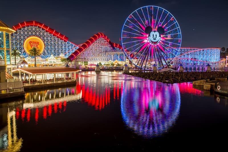 Pixar Pier Observation wheel california