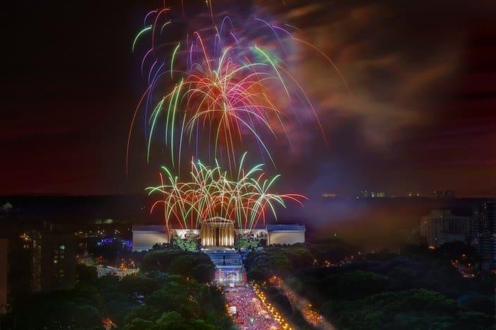 Best Fireworks in Philadelphia