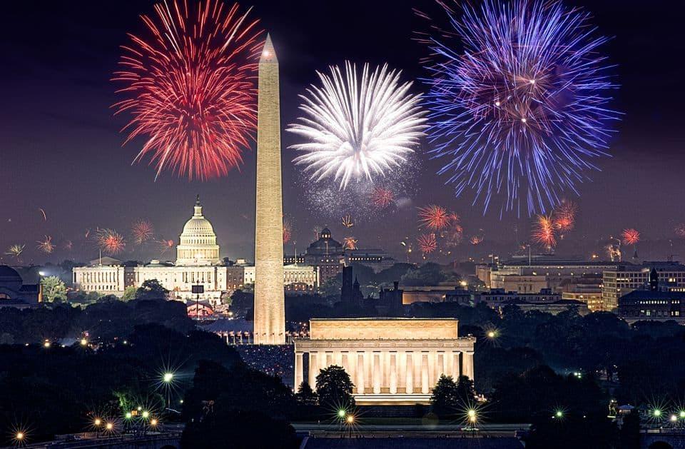 Best Fireworks Washington D.C.