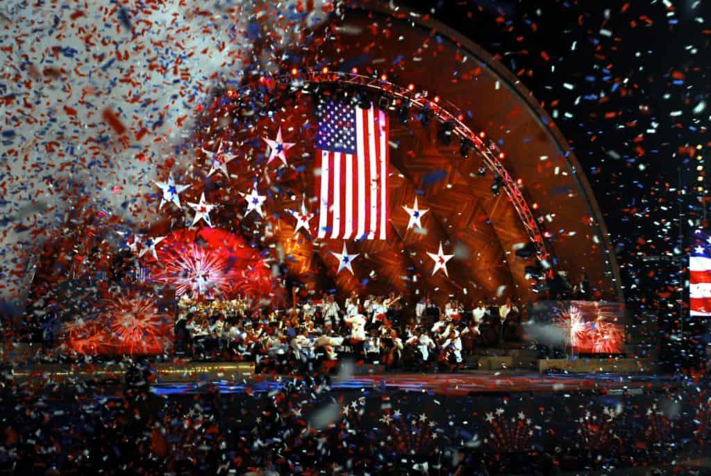 Boston Pops Fireworks Show