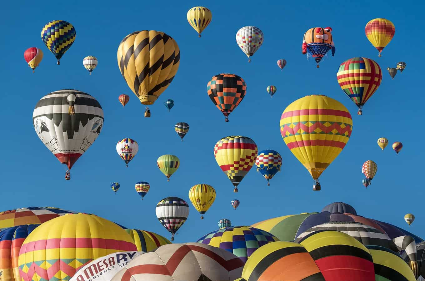 Balloon Festival Races are fun July events!