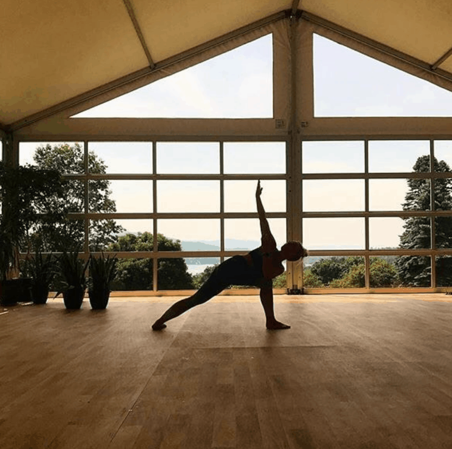 Yoga retreat at Berkshires, Massachusetts