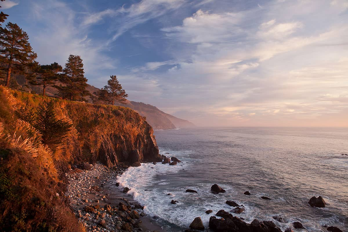 yoga retreat at Esalen California