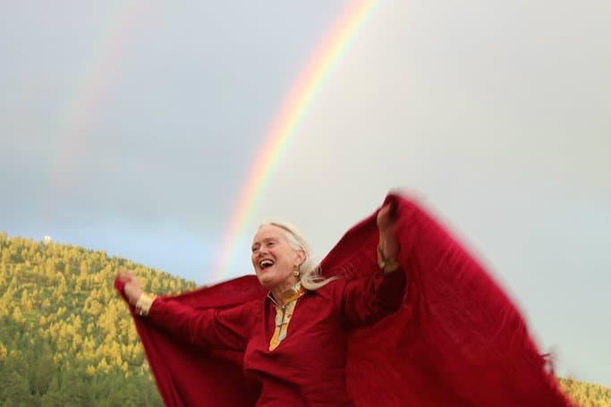Yoga retreats at Shambhala Mountain Center in Colorado