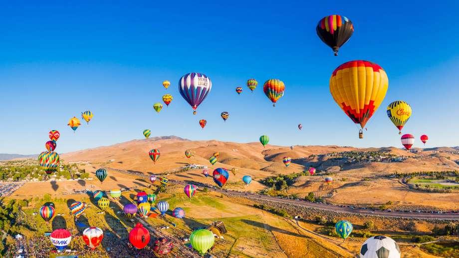 Great Reno Balloon Race – [Nevada]