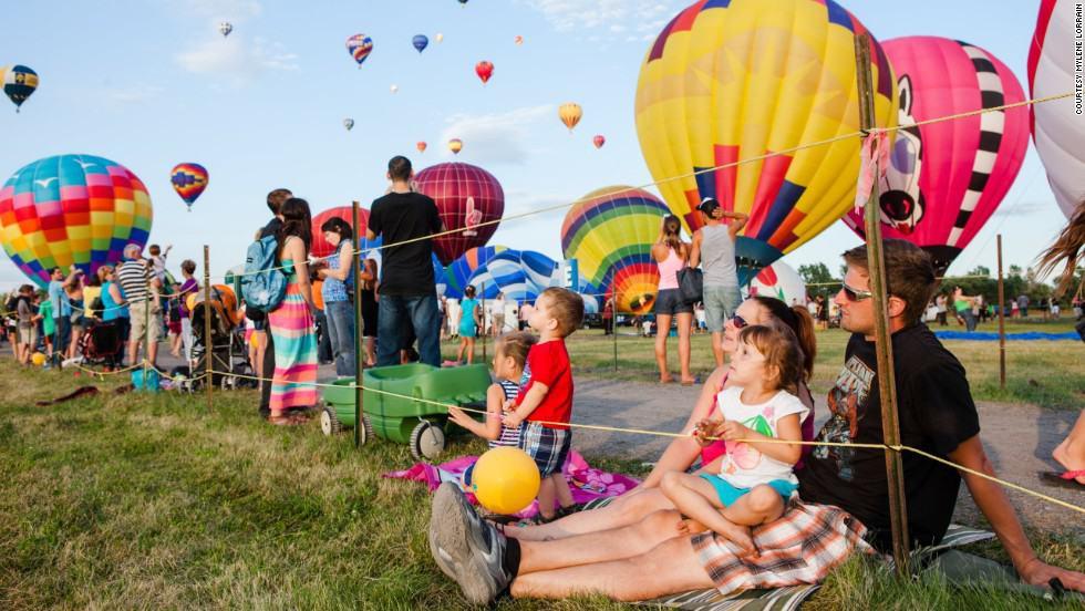 Hot Air balloon festivals usa 1