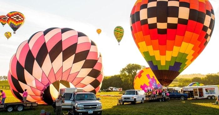 National balloon Classic Iowa