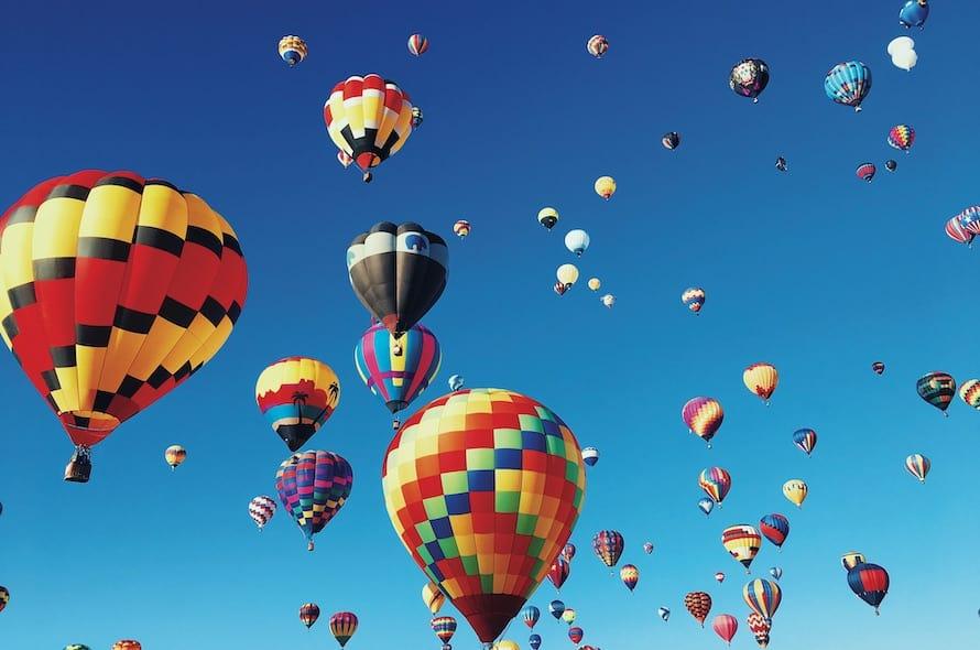 Teton Valley Balloon Rally -[U.S.A]