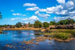 Khong island, Laos (Closest Beach to Laos)