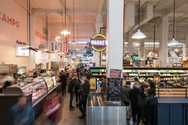 Grand Central Market,Food Hall. Downton Los Angeles, California. Photo by Grand Central Market, Downtown LA Wonho Frank Lee.