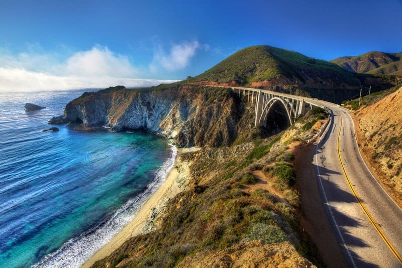 Coastal Highway Route 1, California - Best U.S driving Roads, Road trip routes.