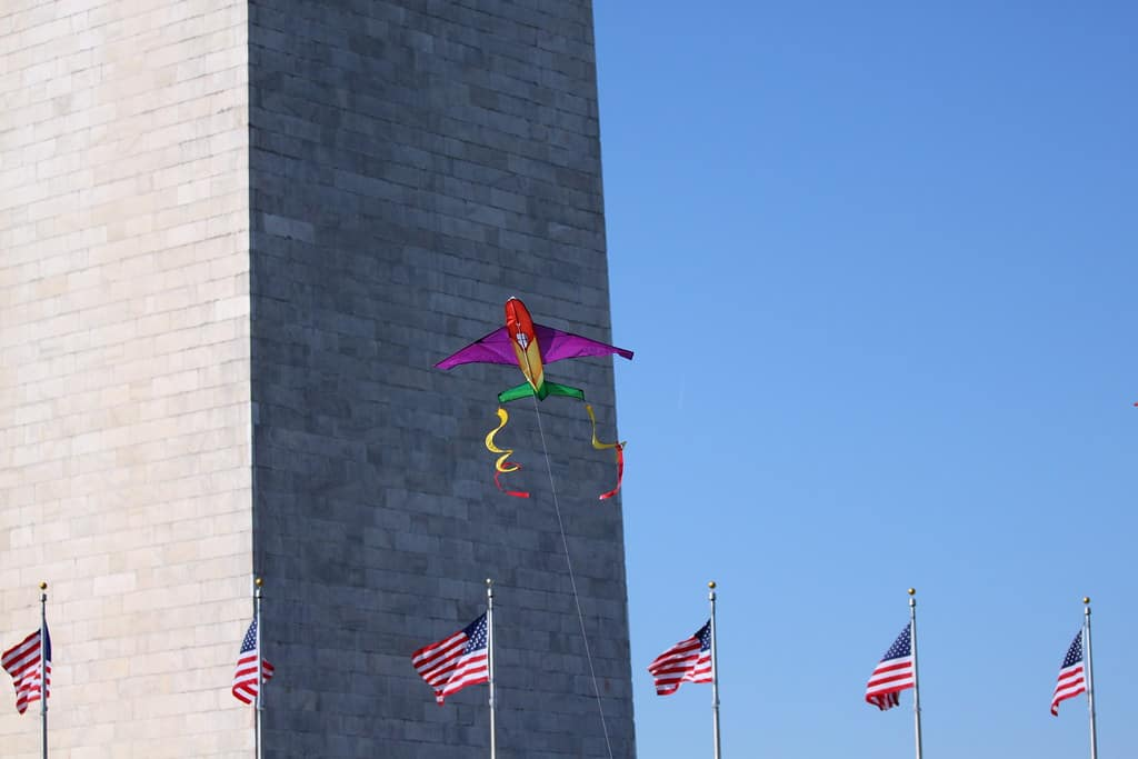 Blossom Kite Festival in Washington DC