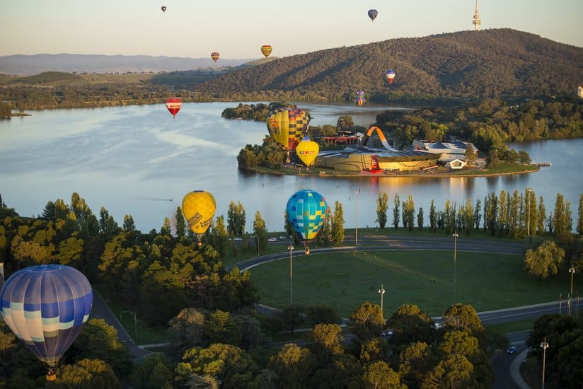Canberra Balloon Spectacular! Is Awe-inspiring with an Aussie twist!(Photo by: Events ACT)
