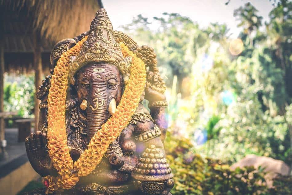 Do's and Don'ts Elephant God India Vishnu.
